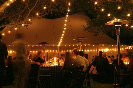 The Outdoor Wedding Dilemma Under The Stars Or Under A