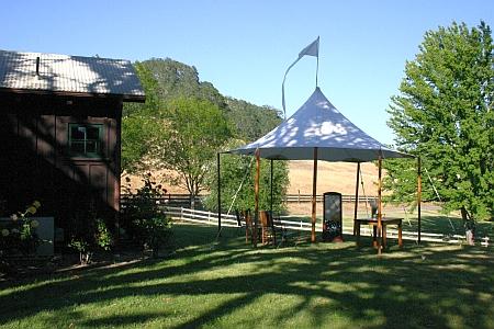 geyserville bridal tent