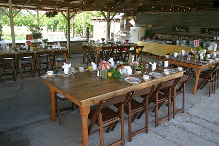 Autry farm tables
