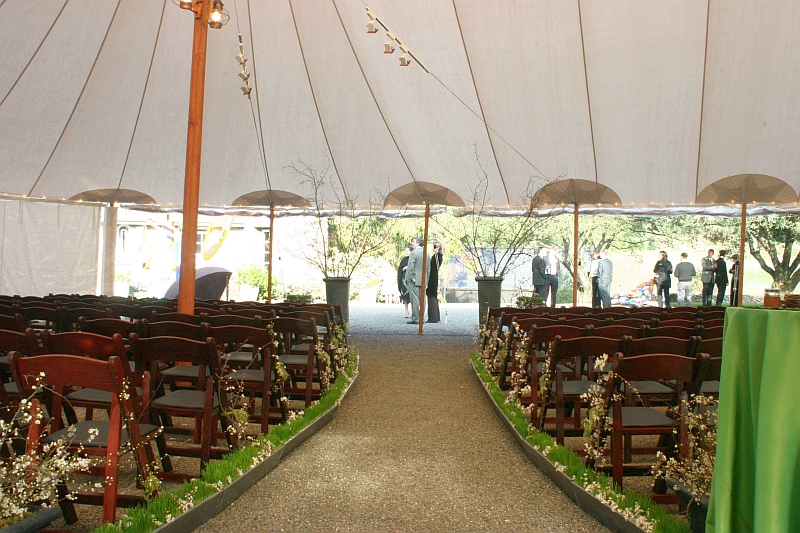 How To Decorate An Outdoor Tent For A Wedding