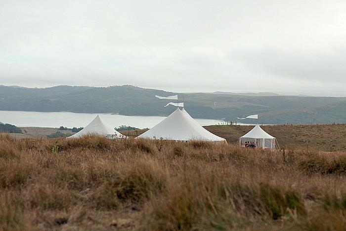 tent peaks green girl