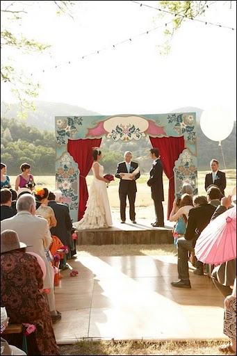 eunice daniel ceremony stage
