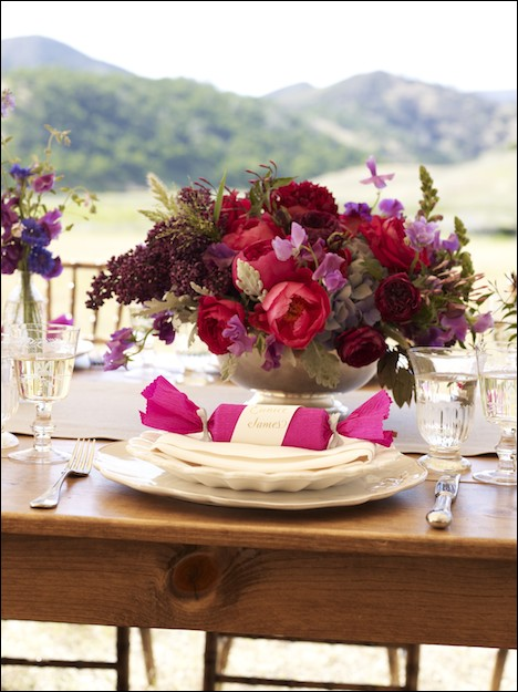 hello! lucky farm table setting
