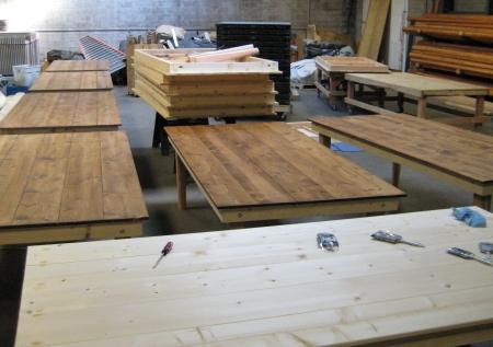 farm table production photo