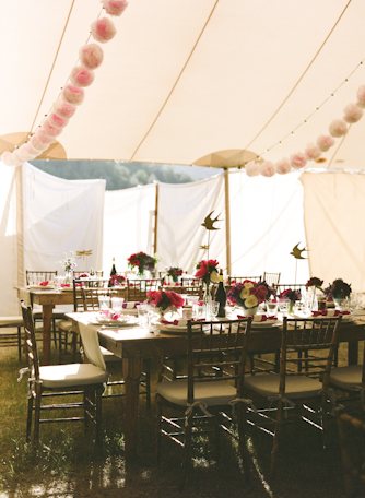 gia canali tent inside