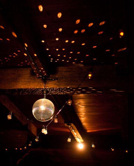 bistro lighting disco ball