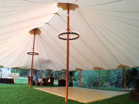 llano seco ranch dance tent