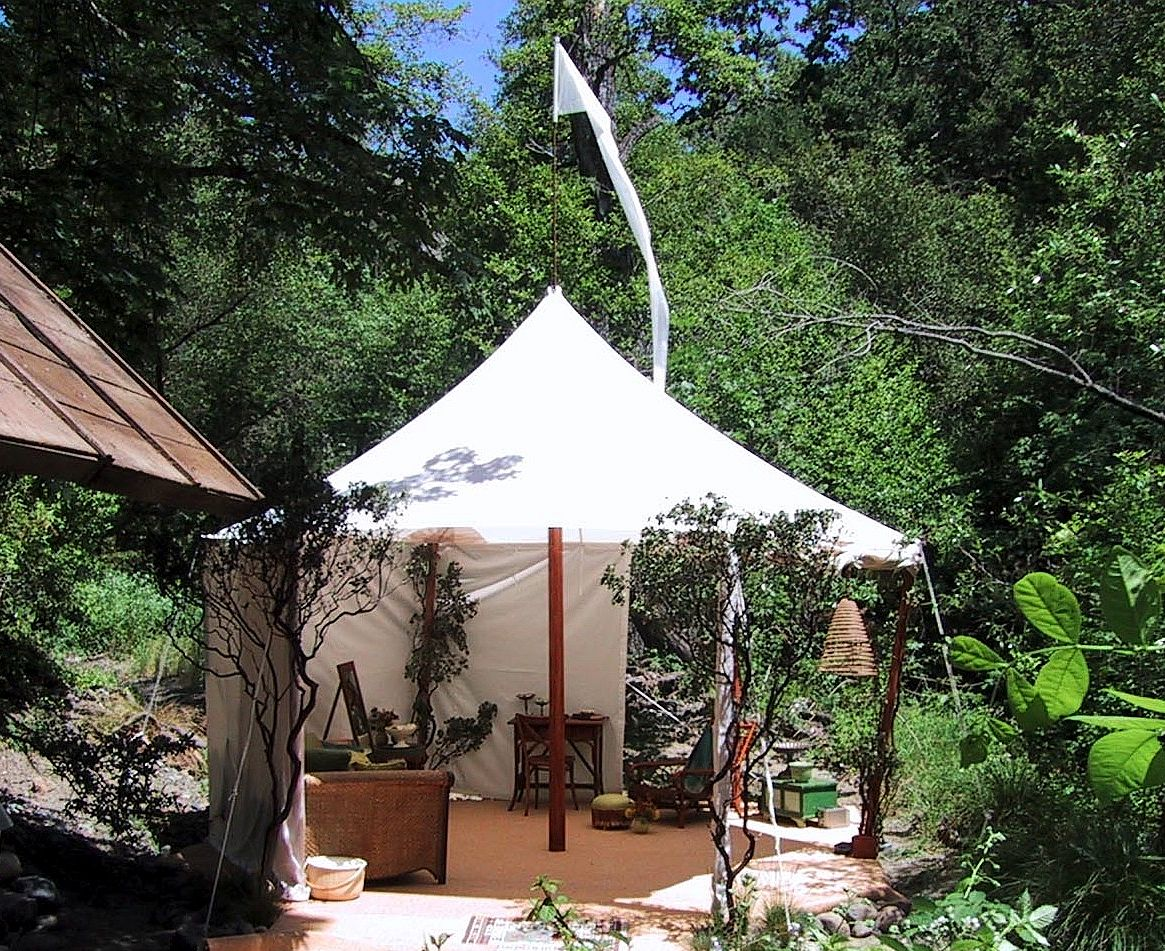 16 round bridal tent